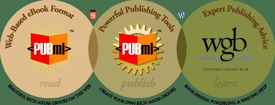 <PubML> eBook format, publishing tools, publishing guidance