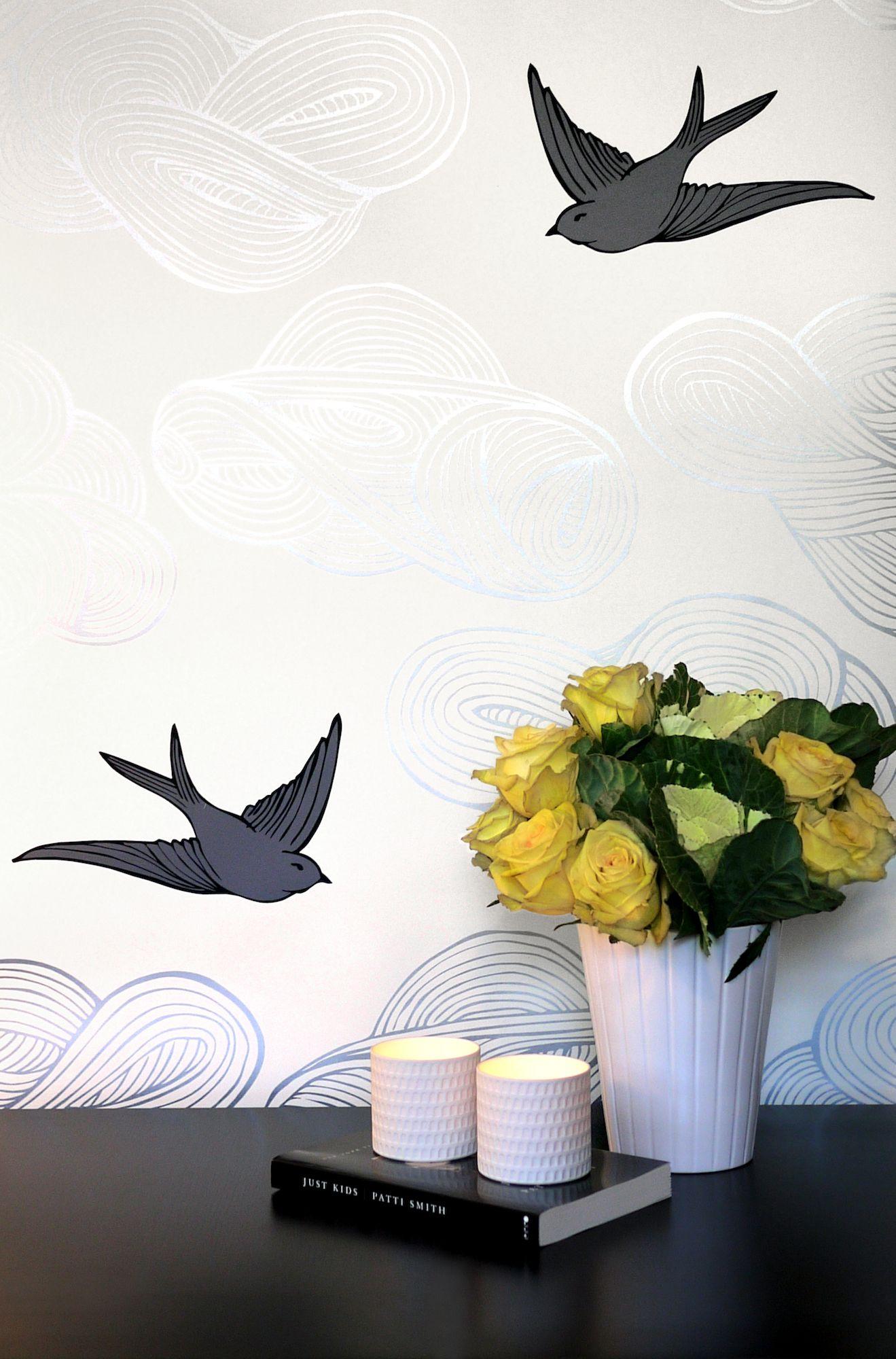 When Art and Wallpaper Collide | Puddingstone Post