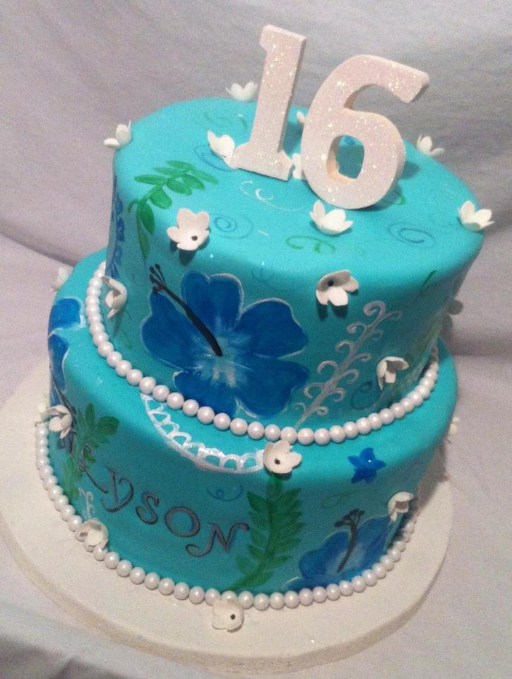 Sweet Sixteen and Teen Cakes