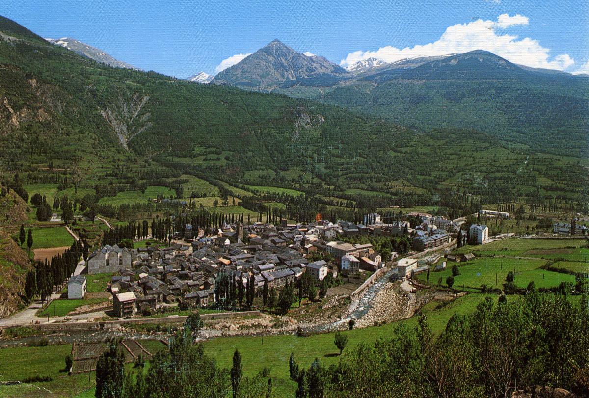 Benasque en el pirineo aragonés