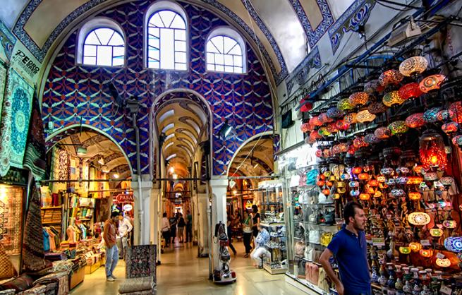 Interesante turismo por Turquía en avión