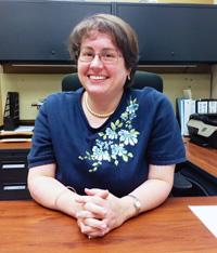 Doctora María Sosa-Lloréns, directora del Departamento de Anatomía y Neurociencia.