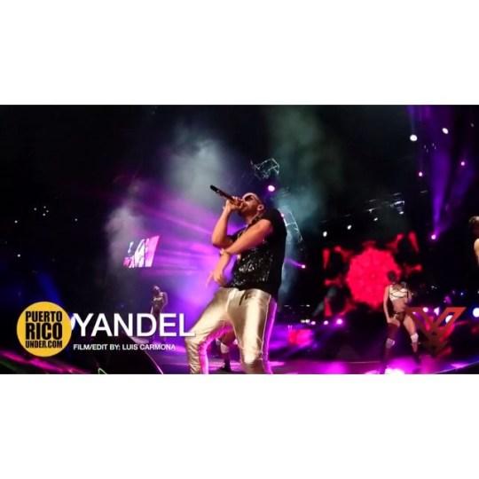 Yandel rompiendo #chile #movistararena #santiago @yandel @puertoricounder @luiscarmona