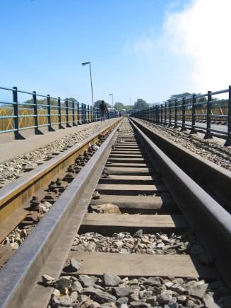 Victoria Falls Bridge railway