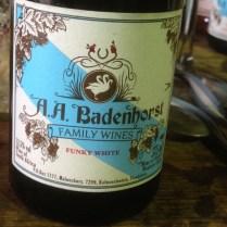 Badenhorst Funky White