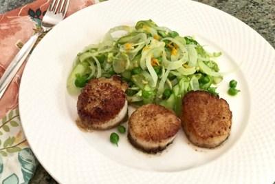 Veggie-Salad-Scallops