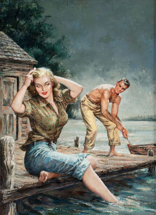 39332940-Waterfront_Girl_by_Amos_Hatter_(Original_books_#730,_1952)