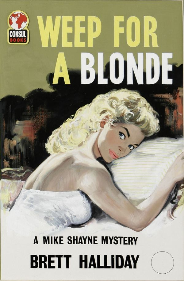 Weep For a Blonde British Paperback Cover
