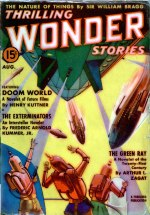 Thrilling Wonder Stories, August 1938