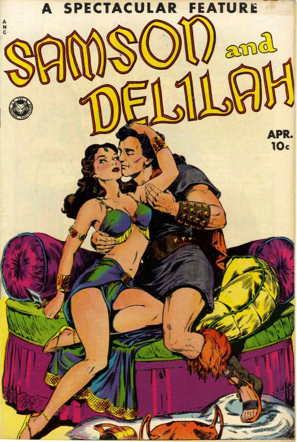 Spectacular Feature Magazine #11 (#1) Samson and Delilah - Lost Valley pedigree (Fox, 1950)