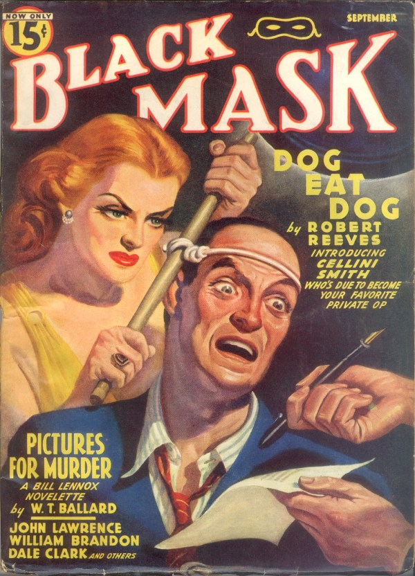 Black Mask September 1940 - Rafael DeSoto