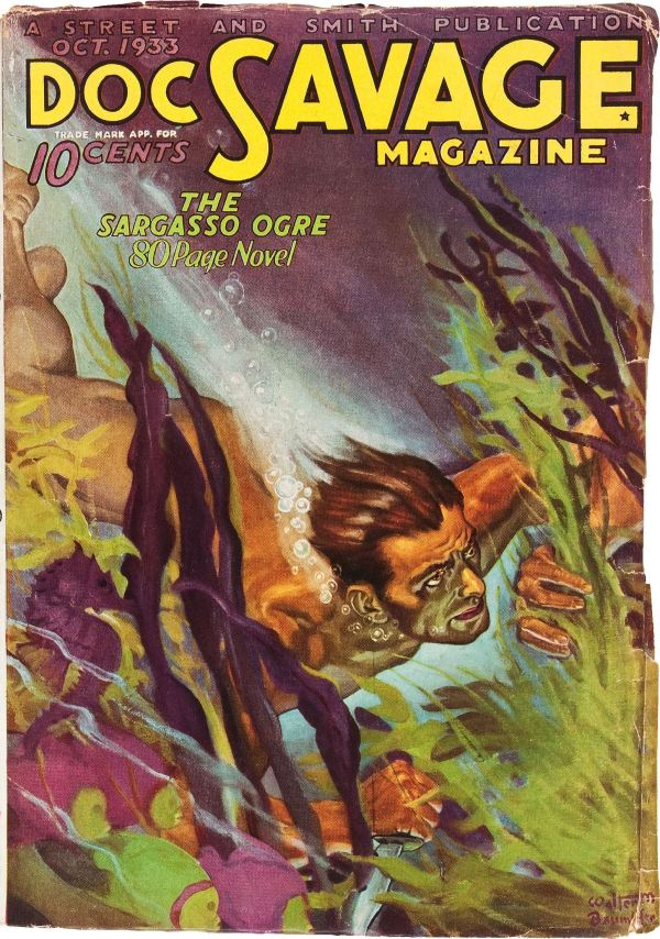 Doc Savage - October 1933