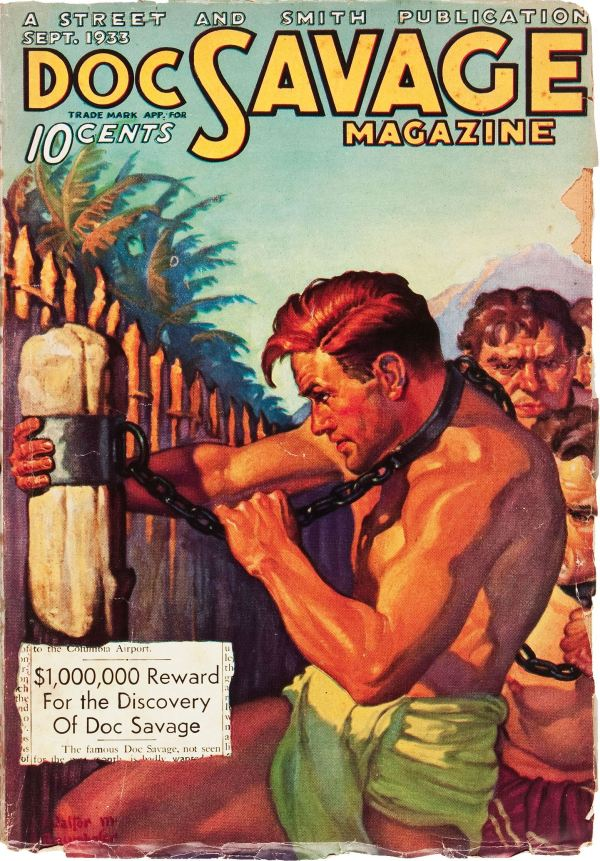 Doc Savage September 1933