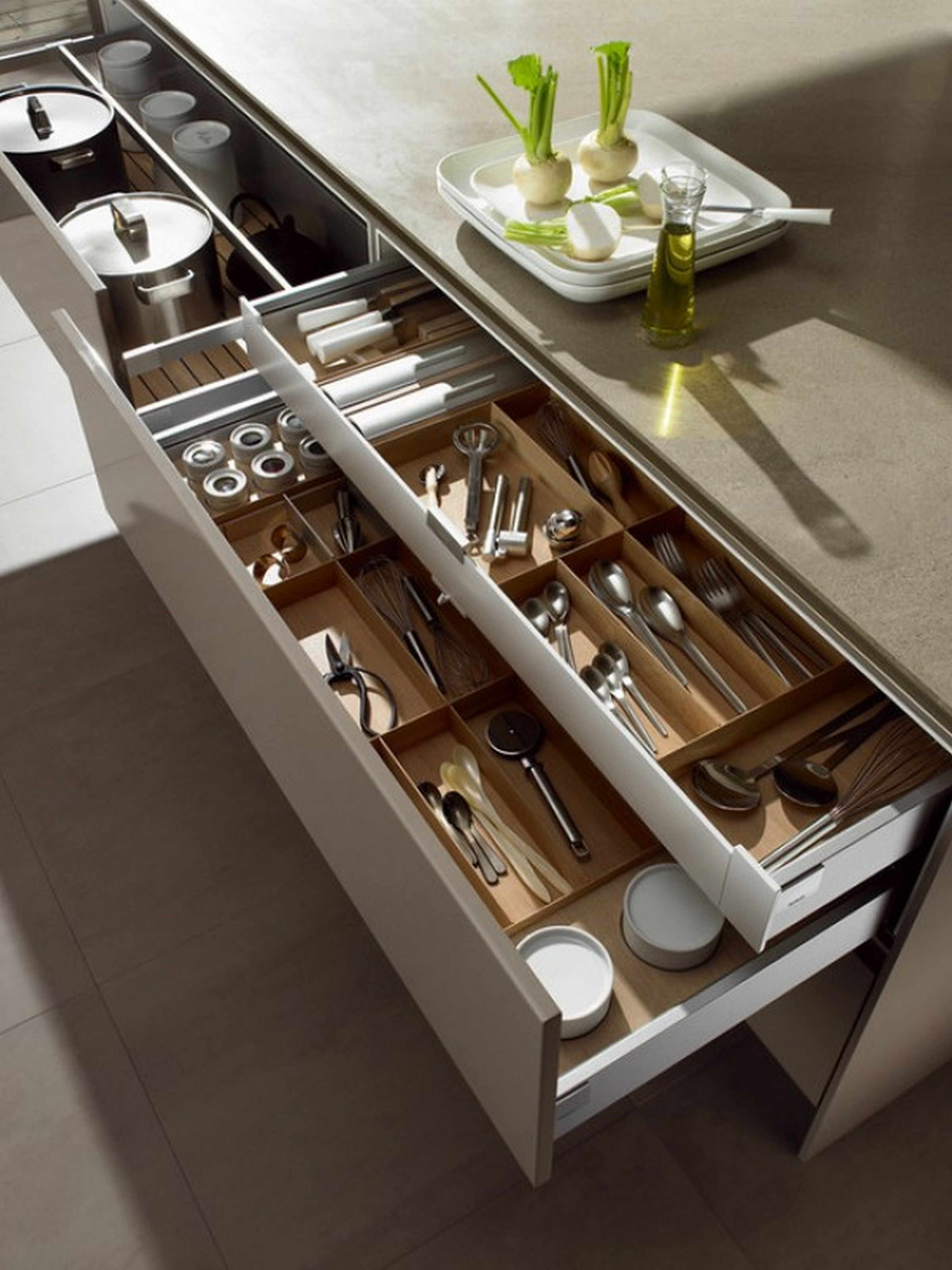 tips for perfectly organized kitchen drawers kitchen organization ideas Kitchen Drawer Organization Ideas without Handles