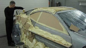 I Had No Idea Why This Guy Dumped Weird Goo All Over His Car… But Now I'm Completely Jealous.