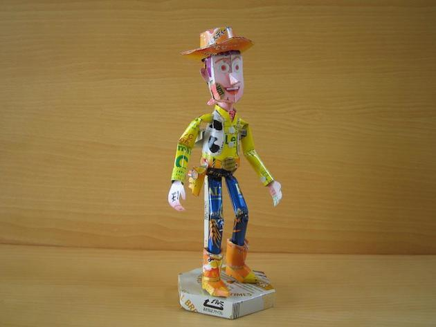 13. Woody from Toy Story.