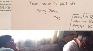 Son Gives His Parents The Best Christmas Present They Could Wish For