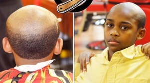 This Barber Straightens Out Misbehaving Kids With An 'Old Man' Haircut