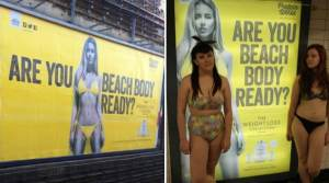 "Here's How People Are Reacting To An Ad In London Asking Women If They Are ""Beach Body Ready"""