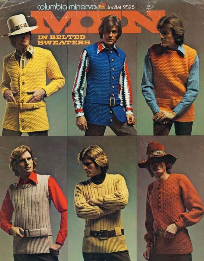 мужская мода, свитер