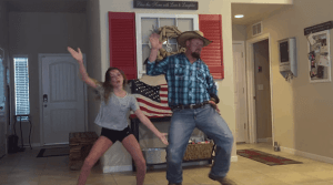 Watch This Seriously Talented Father And Daughter Duo Dance The 'Whip And Nae Nae'