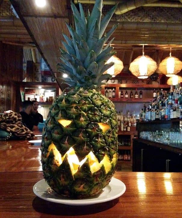57fb3fcee0ef5 - Forget Pumpkins, Pineapple Jack O' Lanterns Are The Latest Hallowe'en Trend