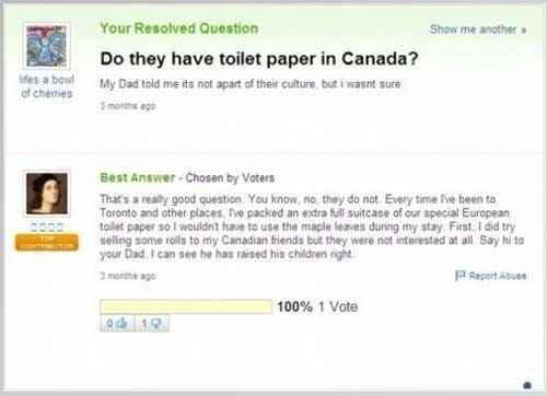 58208ece5d866 - 21 Genuine 'Yahoo Answers' Questions That Will Make You Fear For Humanity's Future