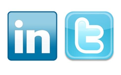LinkdeIn & Twitter