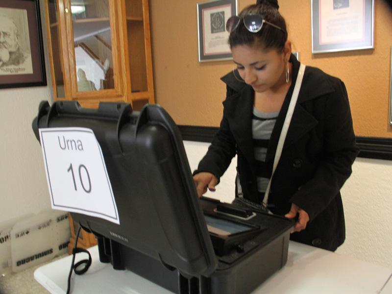 votaciones electrónicas