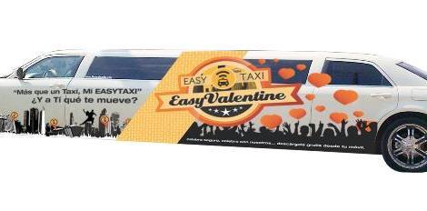 foto limusina blanca Easy Taxi feb 14  14 arch part.