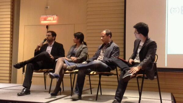 Panel inversión Demo day Socialatom Ventures