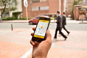 Foto Easy Taxi app Arch. Part.