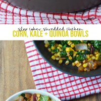 Shredded Mexican Chicken & Corn Quinoa Bowls