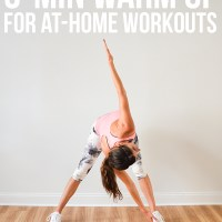 5-Min Warm Up for At-Home Workouts