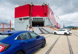 Honda Civic 5 puertas rumbo a EE.UU. - PUNTA TACÓN TV