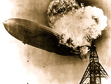 May 6 – In 1937, the hydrogen-filled German dirigible Hindenburg burned…