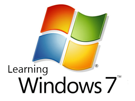 Learning Windows 7 Logo