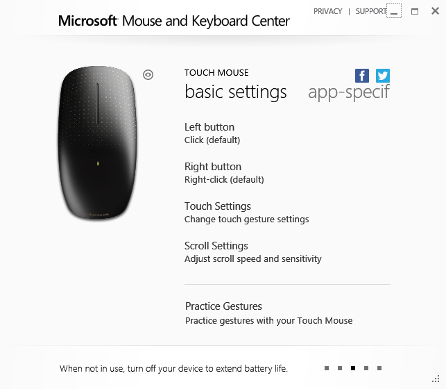 Download Mouse and Keyboard Center 2.0