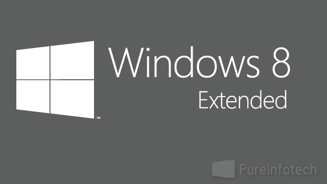 Windows 8 extend trial