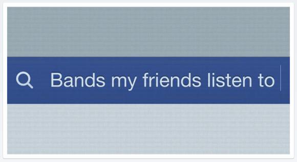 Graph Search Facebook bar