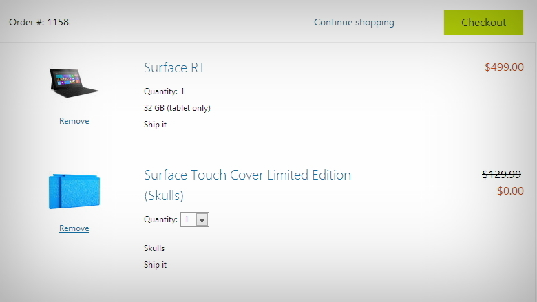 Microsoft is offering free Touch or Type Cover with the purchase of a Surface RT 780_wide