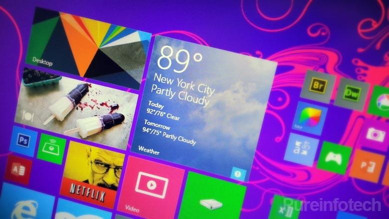 Start screen on Windows 8.1