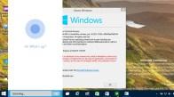 Cortana running on Windows 10 dekstop