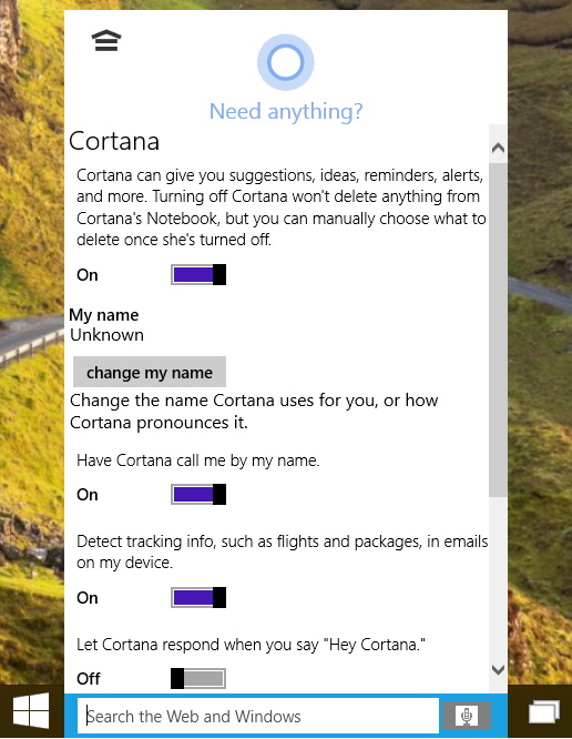 You can simply say hey cortana to trigger the assistant and use