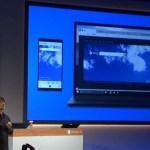 Project Spartan presentation during the Windows 10 press event