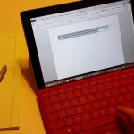 Surface 3 with red Type Cover