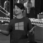 Joe Belfiore t-shirt secret Windows 10 message on this Tech Recap