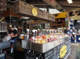 Foodmarket im Hafen von Tel Aviv