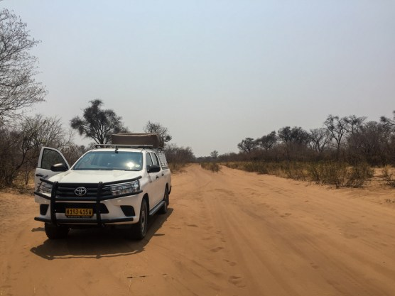 Auf dem Weg nach Savuti