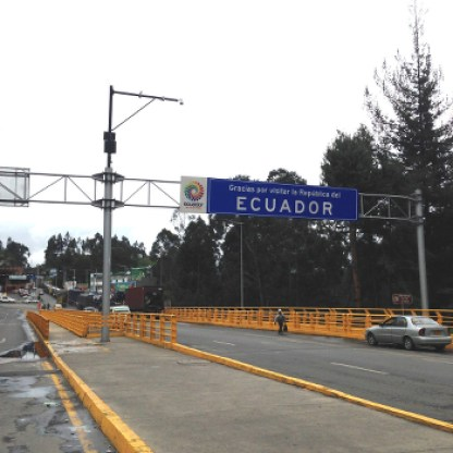 Tschüss Ecuador